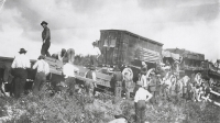 Train derailment on the Sells Floto Circus...1915.JPG