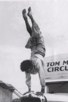 Tom Mix Circus clown...1930's.JPG