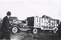 Tom Mix elephant truck...1930's.JPG