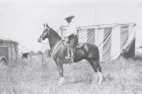 Tom Mix on horseback...1930's.JPG