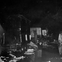 Tornado damage on the Cetlin-Wilson Midway in Sedalia Mo....1952.jpg