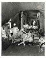 the private dressing tent of headliner Ella and husband Fred Bradna on the R B B B...1920's.jpg