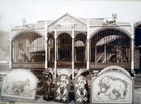 The John Robinson's 10 Big Shows carried 30 different Cottage cages in 1906.jpg