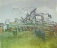 The end of the Velare Bros. Sky wheel. Klamath Falls 1970.jpg