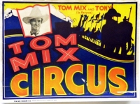 The iconic movie cowboy of the 1930s Tom Mix decided to go into the circus business. He purchased the Sam B.Dill Circus in 1935 and renamed it for himself. In 1938 the show went b.jpg
