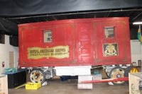 The beautifully hand carved Royal American Publicity Wagon.jpg