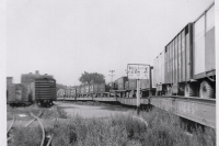 Strates wagons on the flats..1961.JPG