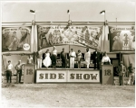 1940's Side Show Photo