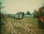 Setting up on a mud lot. Myers Amusements in Elizabethtown Kentucky..1970's.jpg