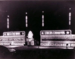 Siebrand's beautiful neon lit front gate somewhere in Arizona. 1940 or 1950's.jpg