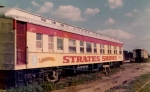 The old  ' Stratesville' car sitting abandoned in  winter quarters.jpg