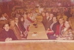 Vegas Trade show 1973. from l to r. Doc Rivera. unknown. unknown. Jack Waller. Scotty Jernigan. Debbie Jernigan...Suzy BrownLehman , Charlie Brown Lehman, Loena Stevens, Barney Stevens, unknown, unknown.jpg