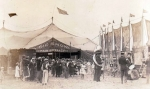 Early 1900's circus midway