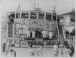 1940's Silo Motor Drome Thrill Show