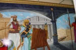 Lodge mural painted by Doc Rivera 2005