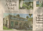Tampa Tribune Sun. Oct. 8th 2006 (Brandon Section) page 1 About Giant's Camp
