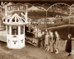 Caterpillar on the Johnny J.Jones Show   1940's.JPG