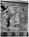 Aarmless' Knife Thrower Banner