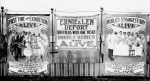 Ernie and Len Defort side show bannerline..1930's or 40's