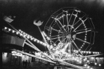 1939  Bozeman, Montana Fair Midway At Night
