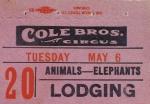 Cole Bros. Circus 'lodging ducat'.jpg