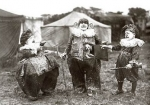 Kassino Clowns and dog  - Dwarf Circus.jpg