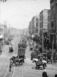 Back of the parade1900