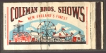 Coleman Bros.Shows  match book ad..JPG