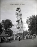 1950's Eli Ferris Wheel Next To Snake Show Somewhere around Nashville,Tennessee .