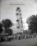 1950's Eli Ferris Wheel Next To Snake Show Somewhere around Nashville,Tennessee .