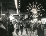 Night time on the Royal American Shows Midway..1965