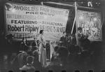 1940 Back End Bally On The Johnny J. Jones Show.