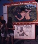 James Bros Circus gorilla show banner. 1968