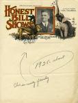 Honest Bill Shows letterhead    1925.jpg