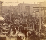 Barnum & London parade....Janesville, Wis.    1886.jpg